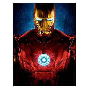 Iron Man. Размер: 30 х 40 см